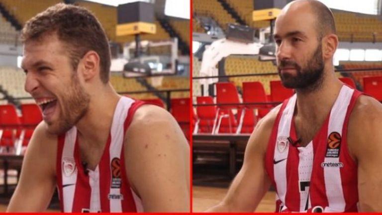 Саша Везенков се облича най-лошо според съотборниците му в Олимпиакос