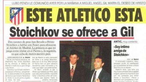 В Испания: Помните ли, когато Стоичков беше на крачка от Атлетико