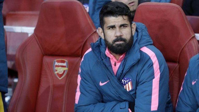 Диего Коща не смята да мърда от Атлетико
