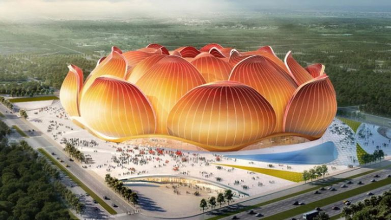 След пандемията в Китай строят стадион за 1,56 млрд. евро