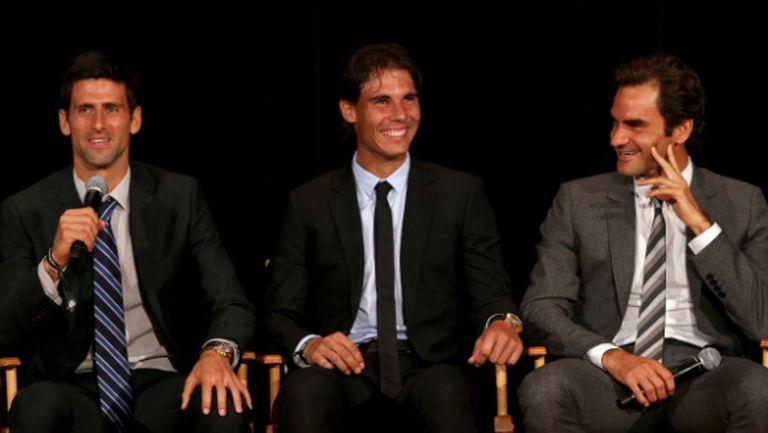 Тримата големи в тениса с инициатива за събиране на средства за играчите извън Топ 100