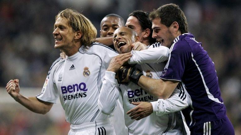 Роберто Карлош назова любимия си момент в Реал Мадрид