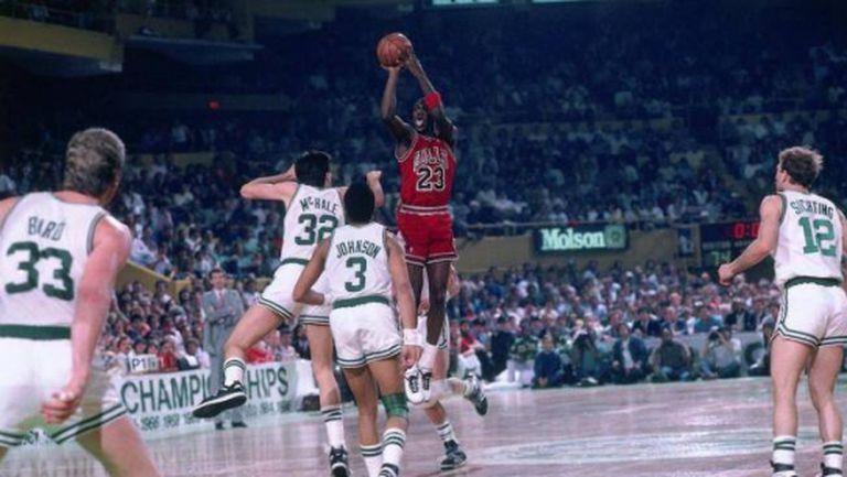 На този ден преди преди 34 години Майкъл Джордан променя историята на НБА (видео)