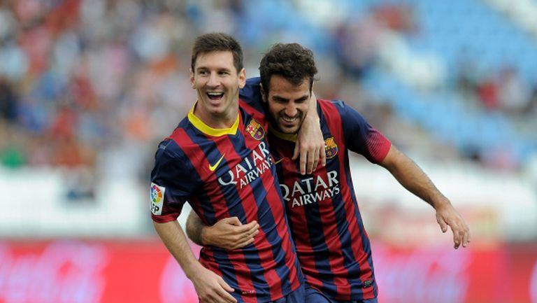 Фабрегас: Меси ще завърши кариерата си в Барселона