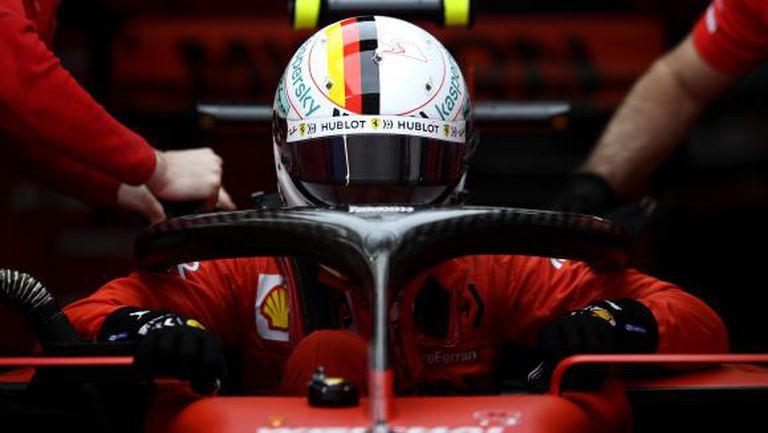 Фетел отказал предложения нов договор от Ферари с драстично орязана заплата