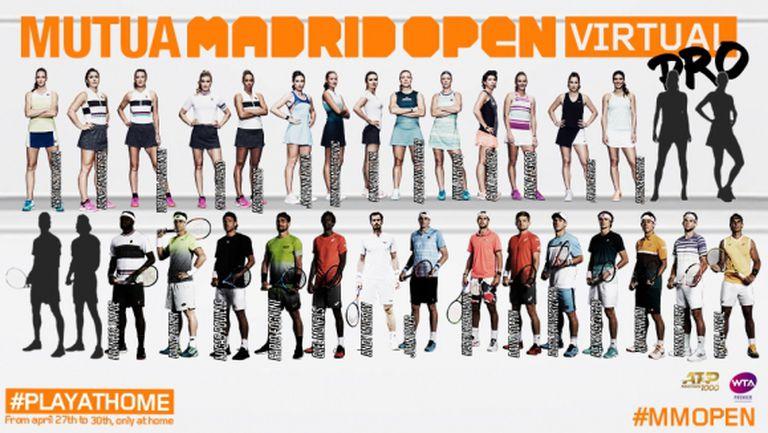 Тийм, Нишикори, Плишкова и Андрееску се включват във виртуалния Madrid Open, кои ще са последните четирима?