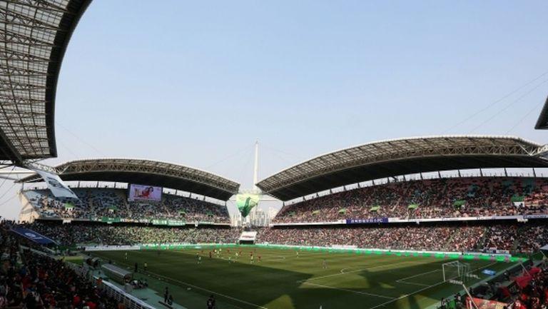 В Южна Корея подновяват футбола на осми май