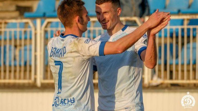 Динамо Минск записа трета победа