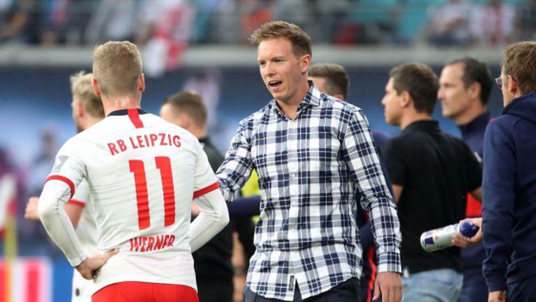 """В Лайпциг не знаят за евентуален трансфер на Вернер на """"Анфийлд"""""""