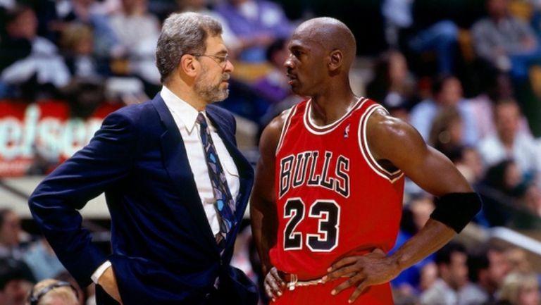 Фил Джексън и Майкъл Джордан - най-великото дуо треньор-играч в историята на НБА