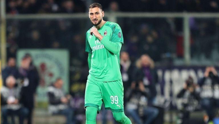 Донарума готов да преподпише с Милан, но не и да намали заплатата си