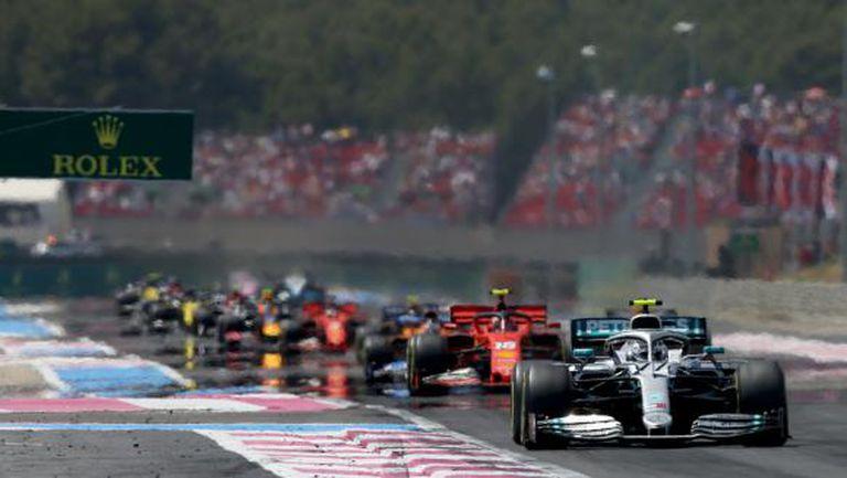 Пандемията принуди Формула 1 да отмени и Гран при на Франция