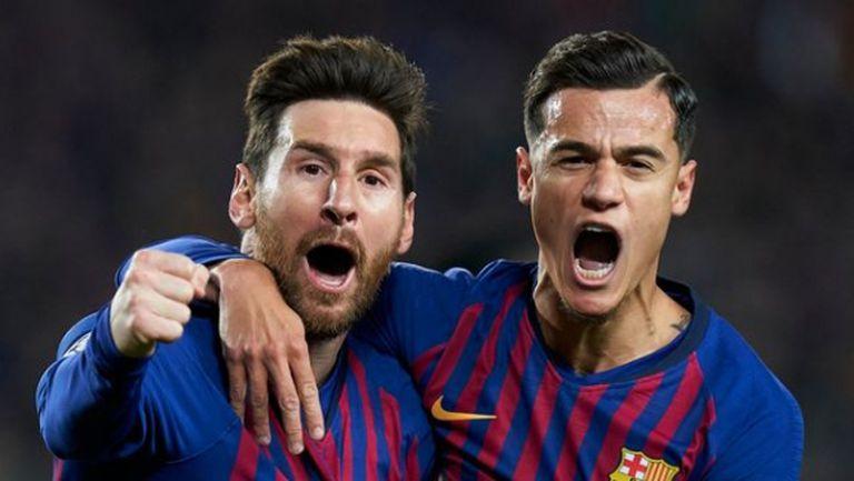 Меси е против плана на Барселона за Коутиньо