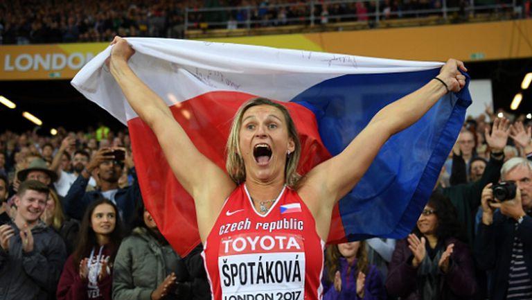 Шпотакова е щастлива, че ще може отново да се състезава през юни