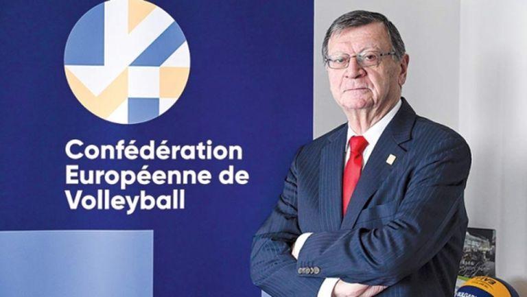 Президентът на CEV с отворено писмо до феновете на волейбола