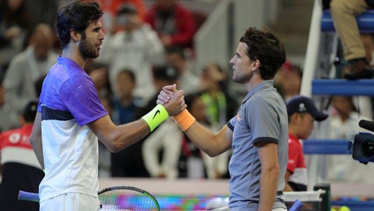 Служебни загуби за Тийм и Хачанов, двамата са аут от Madrid Open