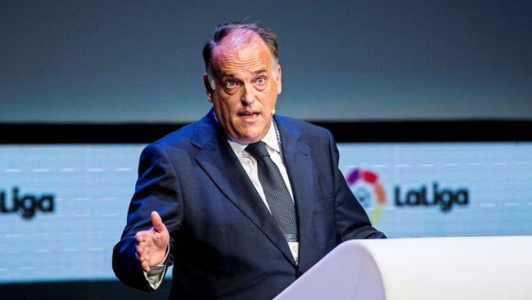 Шефът на Ла Лига не е съгласен с решението на френското правителство за прекратяването на сезона