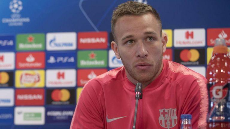 Артур: Единственото ми желание е да остана в Барселона