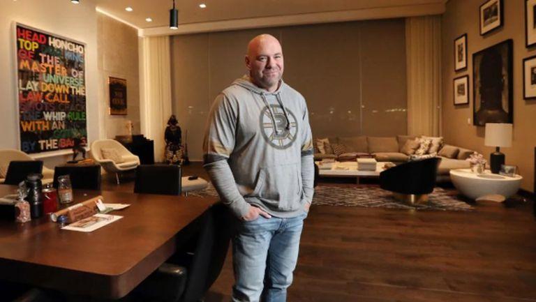 """Вижте """"скромната"""" къща, в която е изолиран президентът на UFC"""