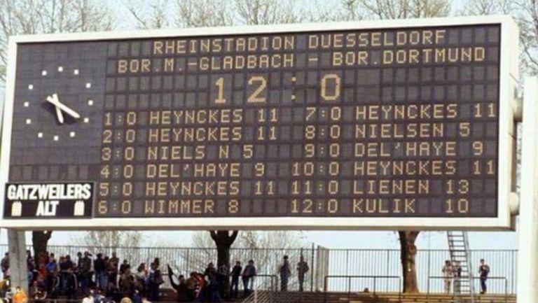 42 години от най-голямата победа в историята на Бундеслигата (видео)