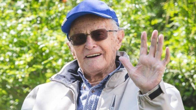 Най-старият жив олимпиец отпразнува своята 100-годишнина