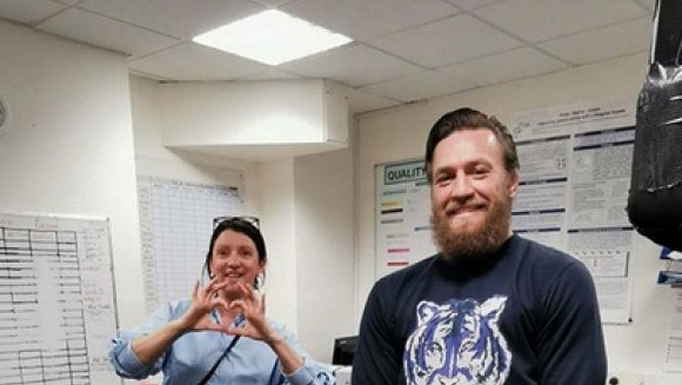 Конър Макгрегър с ново дарение за детска болница в Ирландия