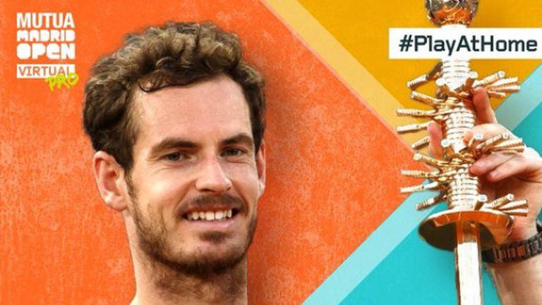 Анди Мъри разкри какво ще направи с парите от титлата на Madrid Open