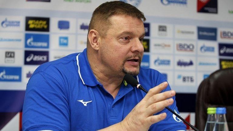Владимир Алекно: Беднож е подходящ за руското първенство по всички критерии
