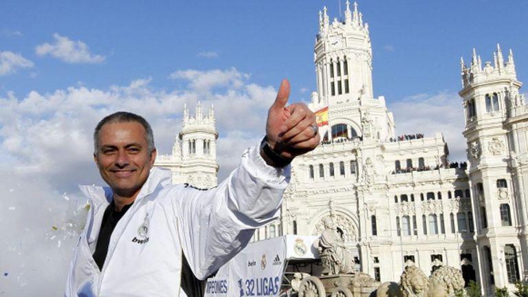 """Моуриньо: С Реал Мадрид отивахме на """"Камп Ноу"""" с усещането, че сме по-добри"""