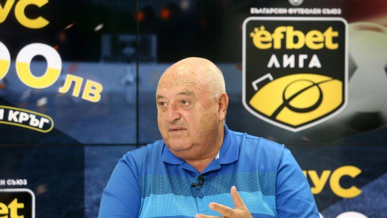 Венци Стефанов: Първенството ще се поднови