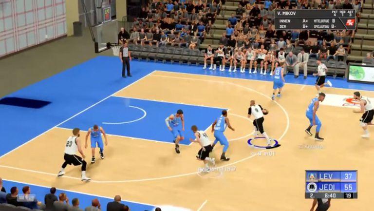 Плейофите в БФБ е-баскет лигата започнаха