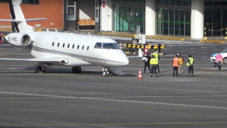 Самолетът на Роналдо се завърна в Торино, но без него