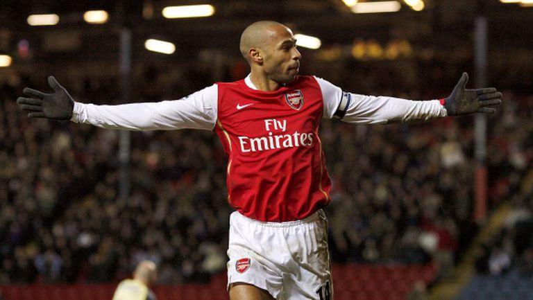 Анри: В Арсенал се забавлявах повече, отколкото в Барселона