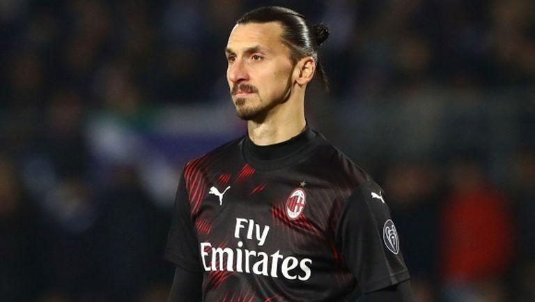 Милан готов на компромис, за да задържи Златан