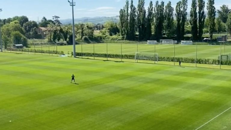 Сасуоло е първият отбор в Италия, който поднови индивидуални тренировки