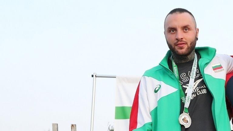 Марк Славов и Елеонора Драгиева са първите атлети, които се връщат на стадиона под Аязмото