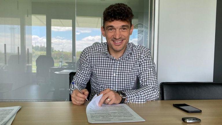 Кешерю подписа нов договор с Лудогорец, завършва кариерата си в България