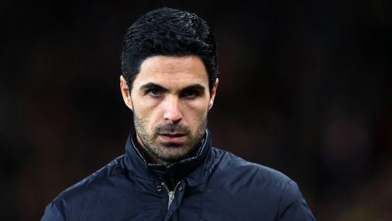 Артета: Не искам да се налага да убеждавам някого да играе за Арсенал