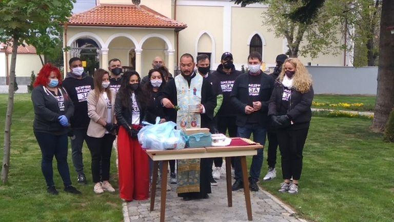 Легенди на Левски в благотворителна инициатива