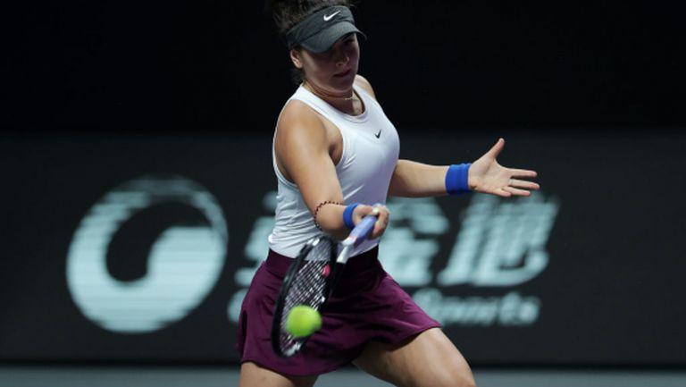 Шампионката от Откритото първенство на САЩ Андрееску иска да стане № 1 в световната ранглиста