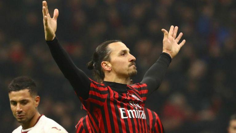 Златан се завръща в Милано в петък или събота