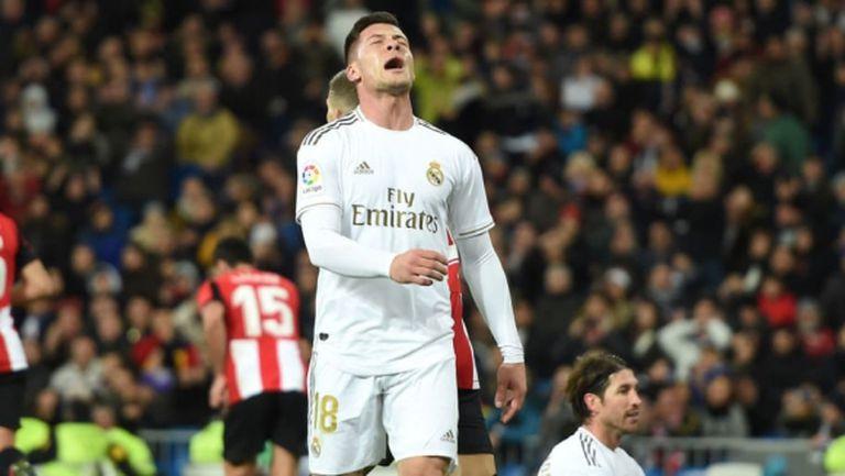 Тежка контузия тотално провали сезона на Лука Йович