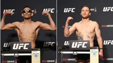 Фъргюсън и Гейджи с равно тегло преди UFC 249