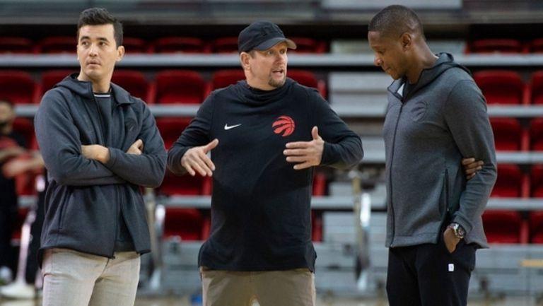 Шампионите на НБА Торонто Раптърс започнаха леки тренировки по индивидуален план