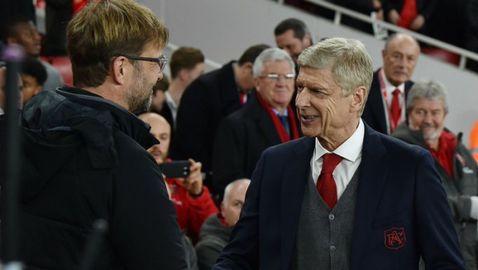 Венгер: Каквото и да се случи, Ливърпул ще бъде възприеман като шампиони