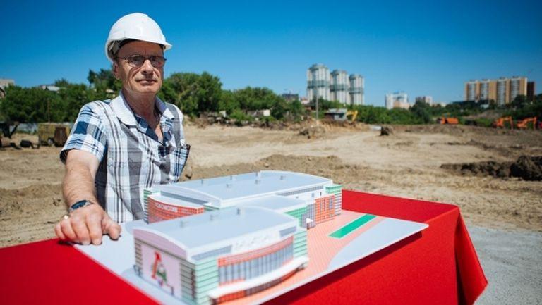 Новата арена на Локомотив (Новосибирск) ще бъде готова за началото на сезона
