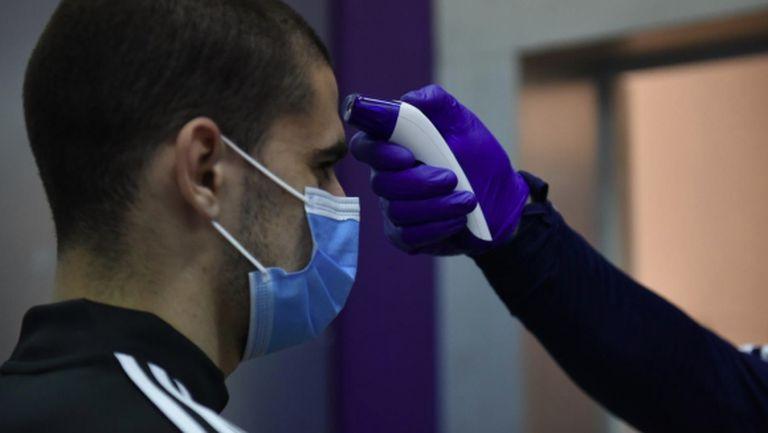 Засякоха трима с антитела в клуба на Роналдо