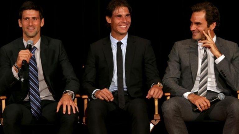Да победиш Федерер, Надал и Джокович в един турнир (видео)
