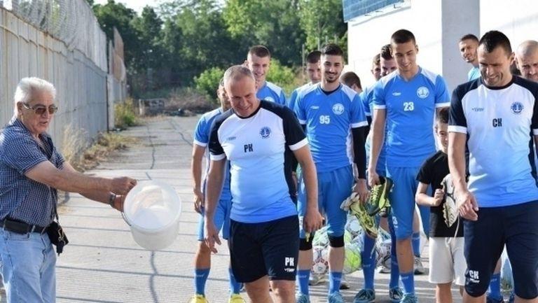 Кишишев обяви амбициите на Черноморец