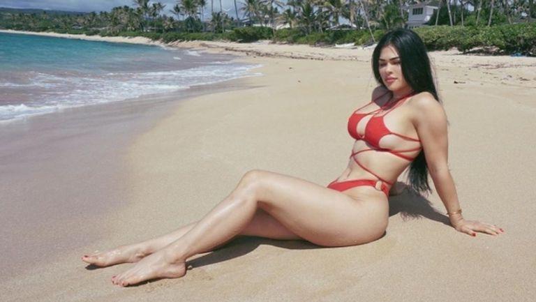 ММА звезда се разгорещи на Хаваите (снимки)